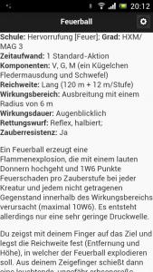 Taschenzauber - Feuerball