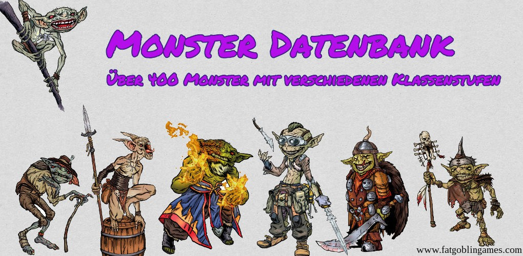 Monster Datenbank