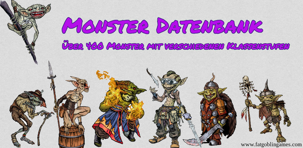 Monster Datenbank (Tool)