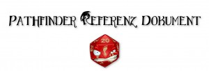 Pathfinder Referenz Dokument (PRD)