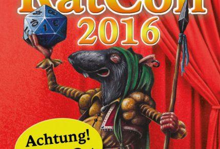 Flyer des RatCon 2016