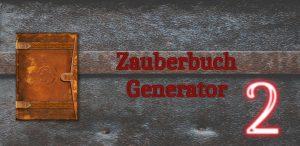 Zauberbuch Generator 2