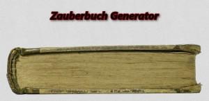 Zauberbuch Generator (Tool)